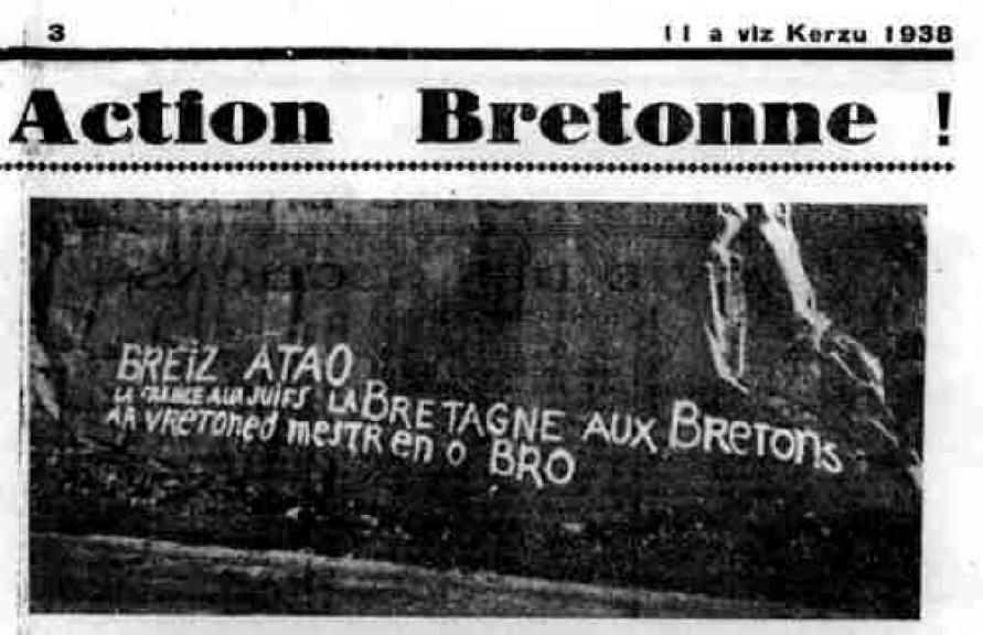 De La Collaboration Au Flb Deux Documentaires D Hubert Beasse Grib Groupe Information Bretagne